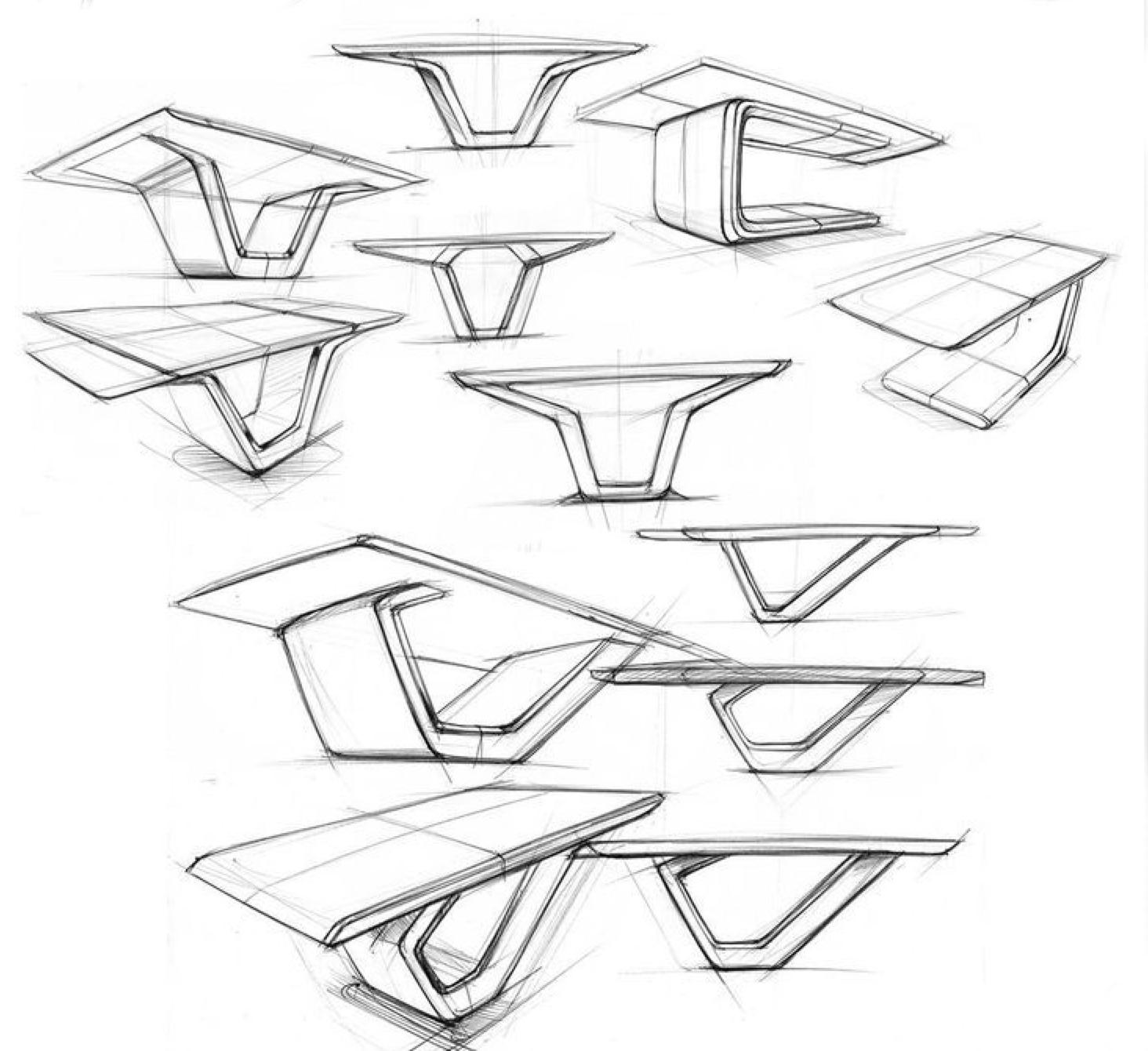 Inspiration Tischdesign